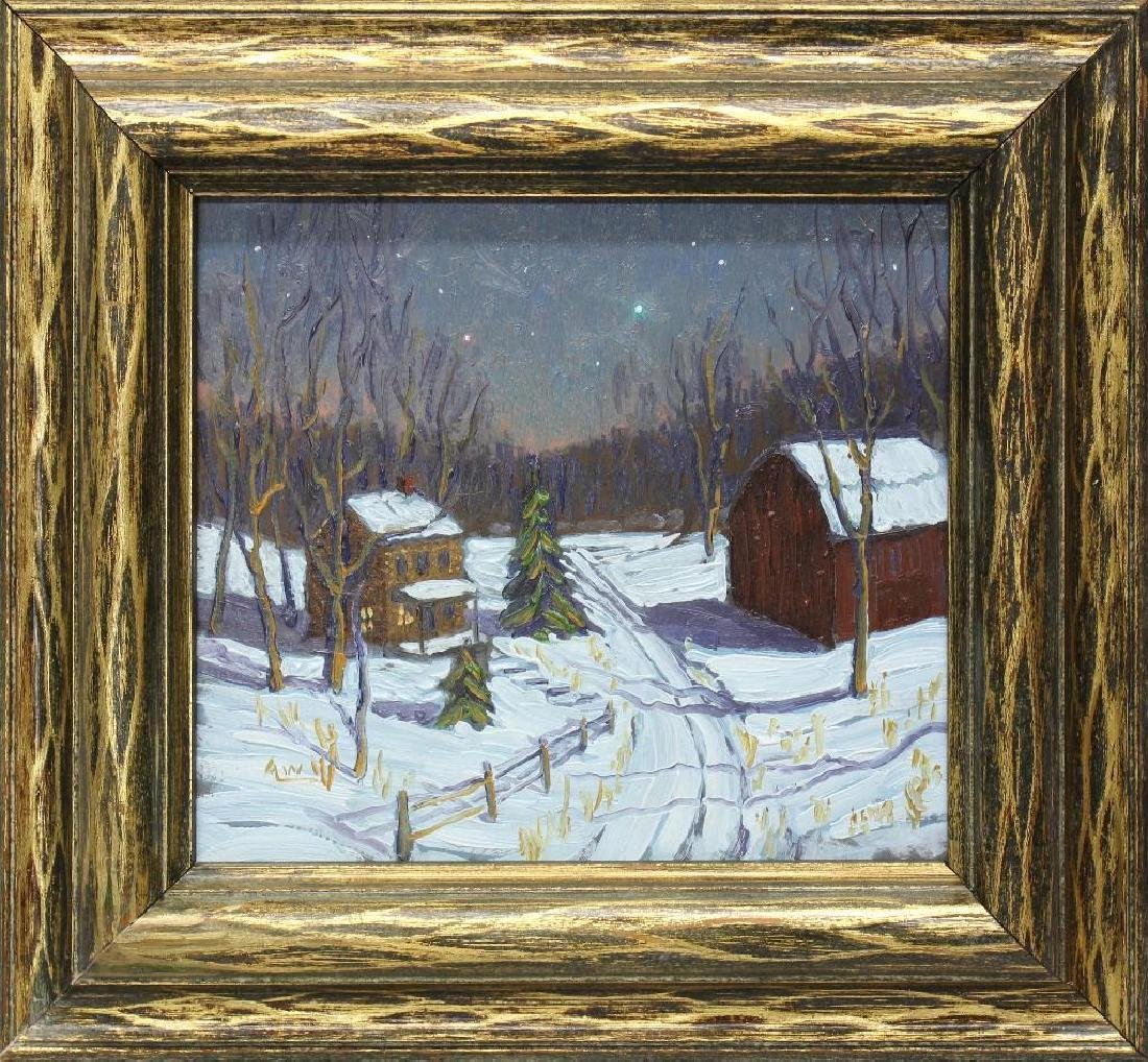 Andy Woehrel (b. 1958, Pennsylvania/New Jersey) Snowy