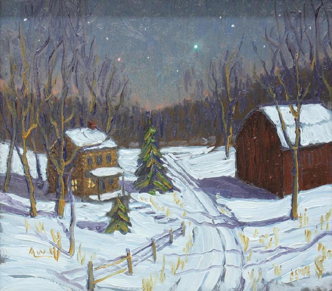 Andy Woehrel (b. 1958, Pennsylvania/New Jersey) Snowy - 2