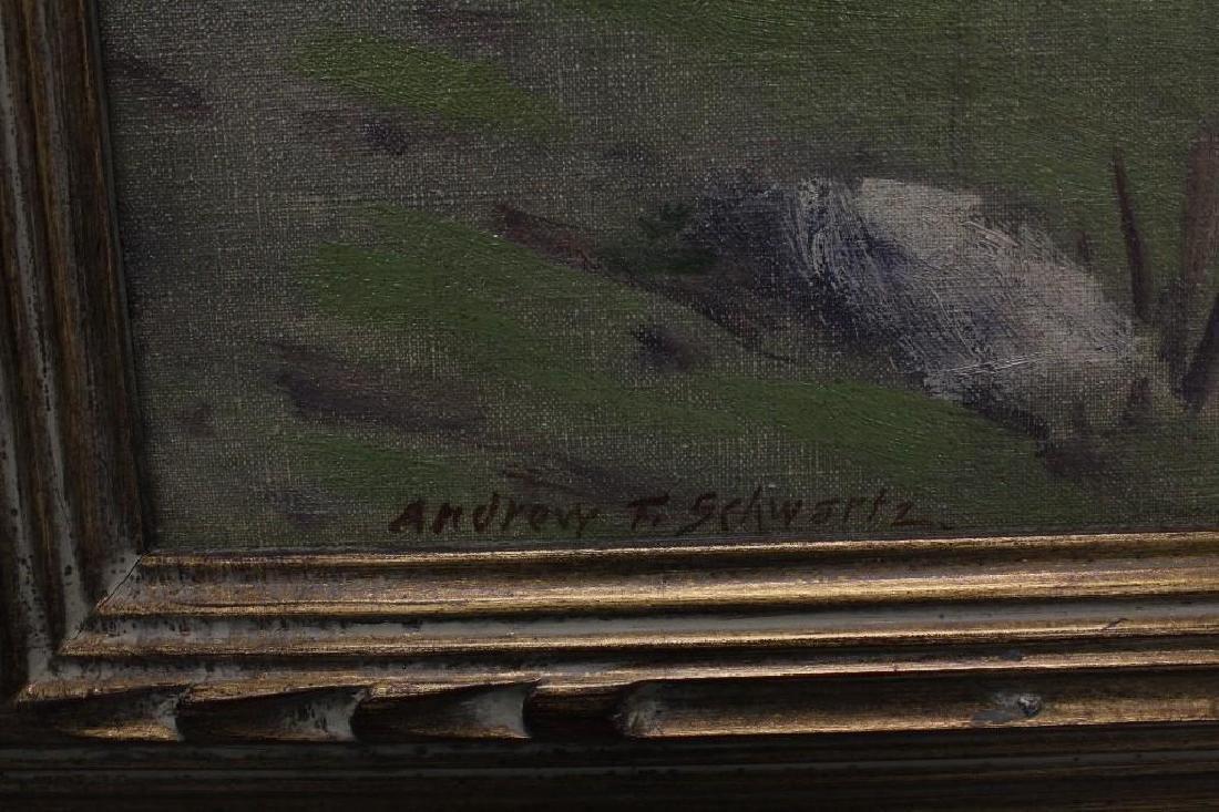 Andrew Thomas Schwartz (1867-1942, New York) Hillside - 3