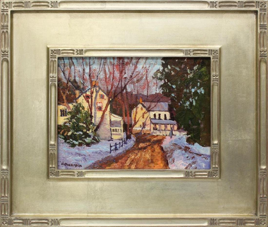 "Ray Overpeck (b. 1933, Pennsylvania) ""Morning Glow"""
