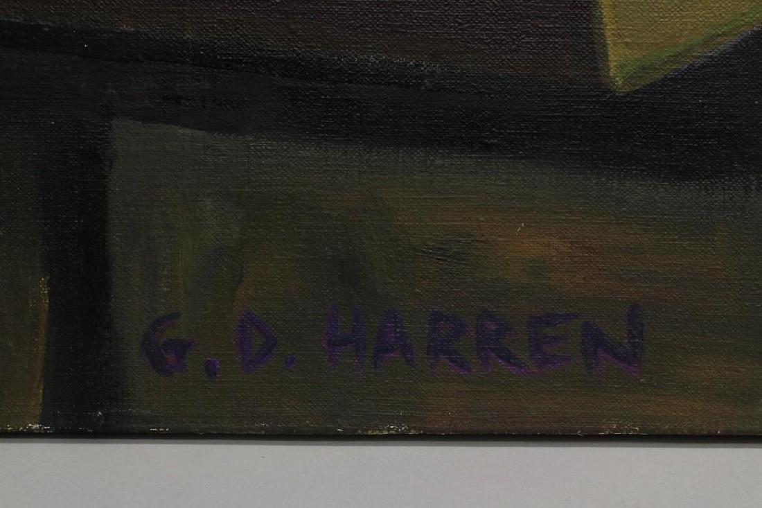 Glenn D Harren (b. 1952, United States) Artist Studio - 2