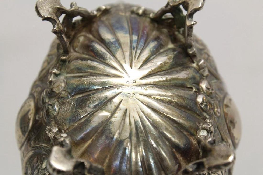Pair of Continental Silver Footed Bowls - 3