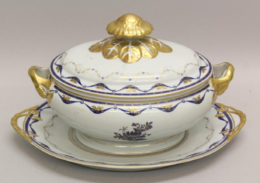 Export Porcelain Soup Tureen