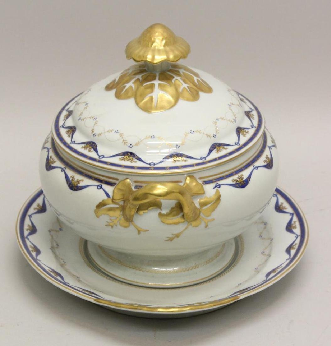 Export Porcelain Soup Tureen - 2