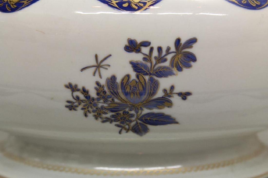 Export Porcelain Soup Tureen - 3