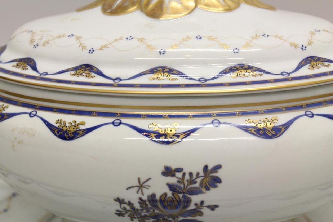Export Porcelain Soup Tureen - 4