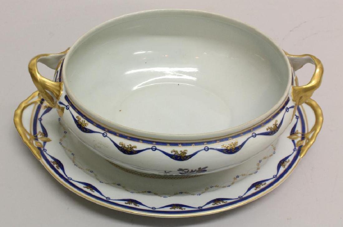 Export Porcelain Soup Tureen - 6