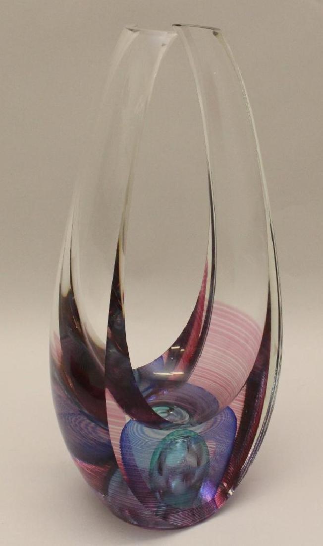 Michael David and Kit Karbler Art Glass Scuplture