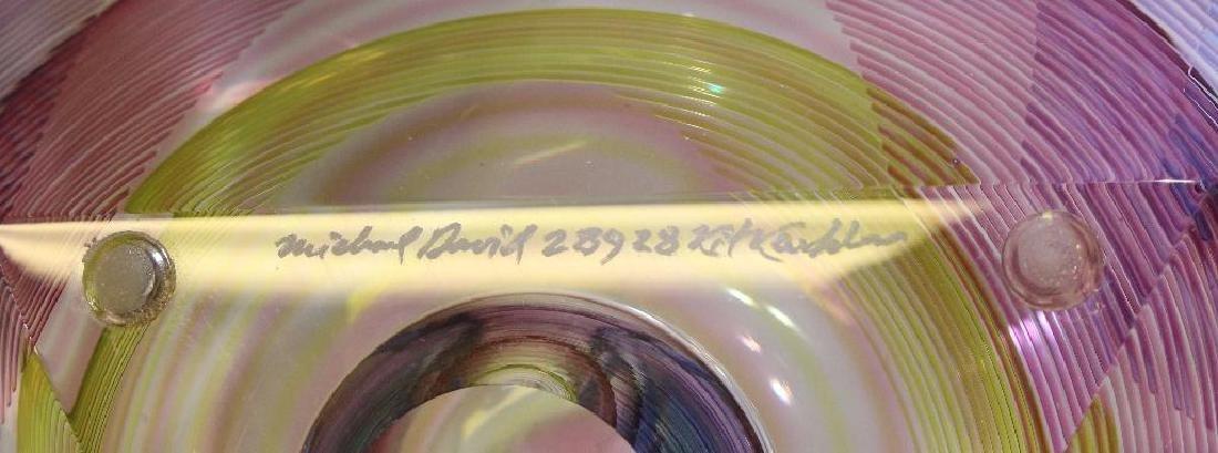 Michael David and Kit Karbler Art Glass Vessel - 5