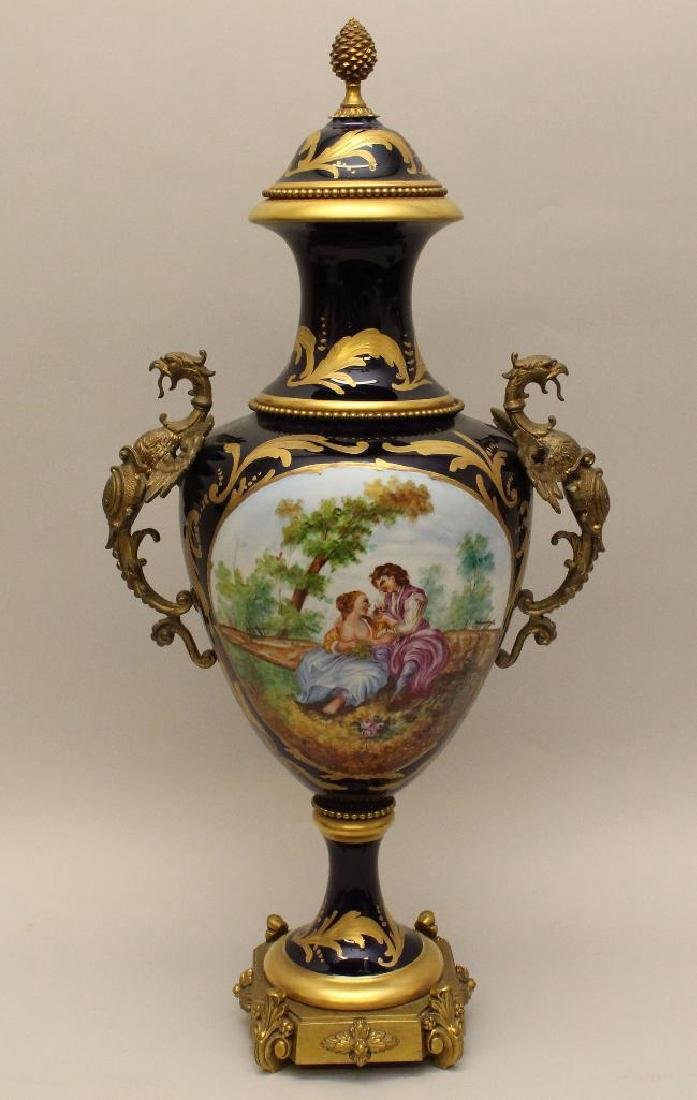 Sevres Style Urn