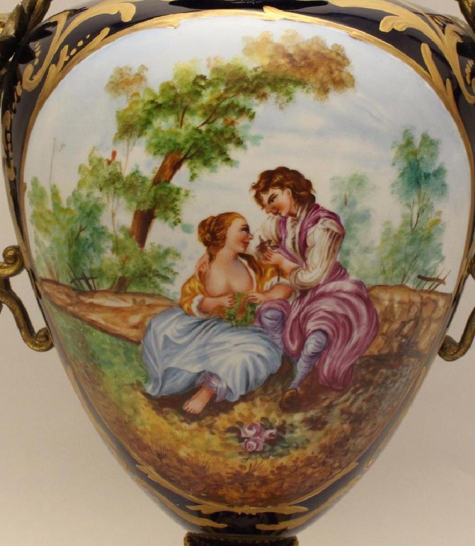 Sevres Style Urn - 2