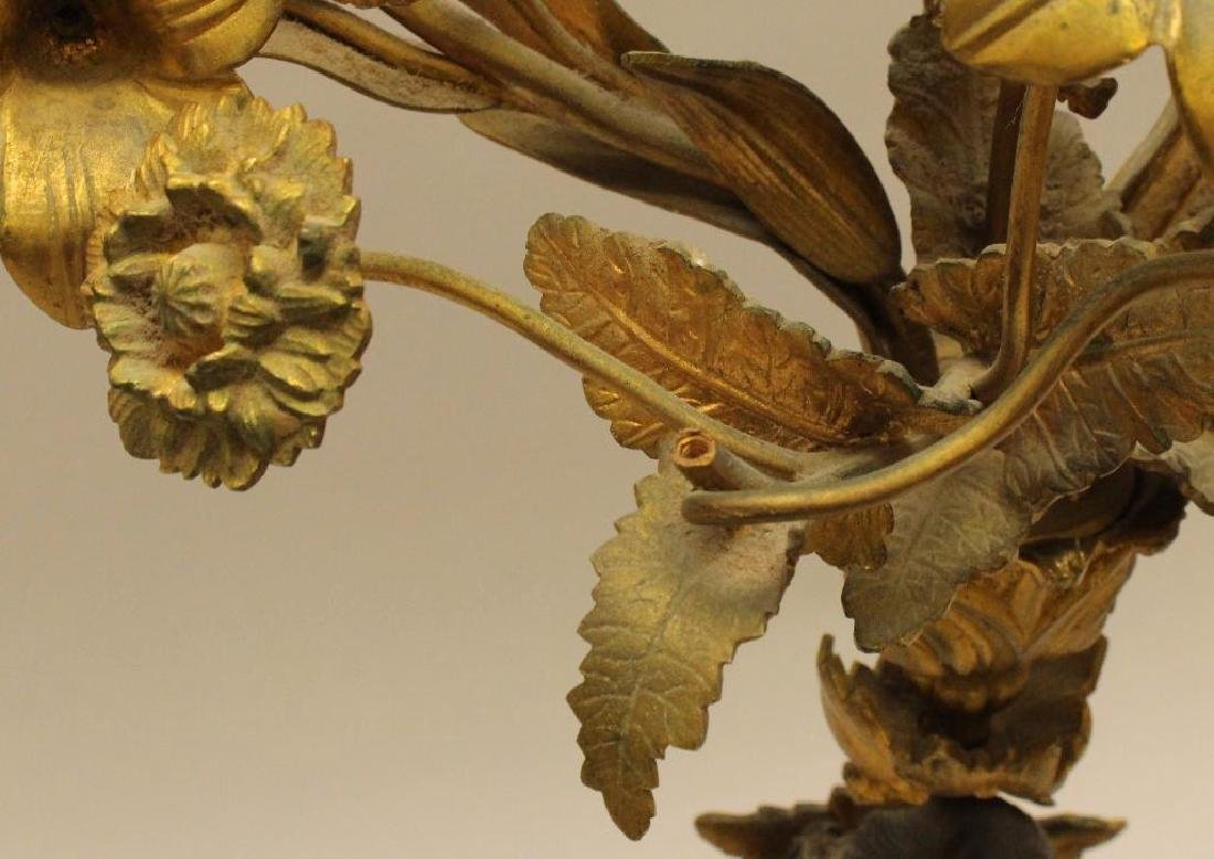 French Gilt Bronze Candelabra - 6