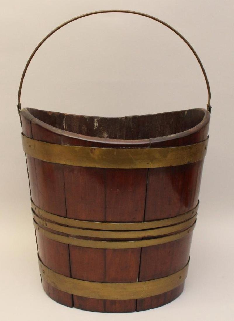 Mahogany Dutch 1780 Bucket
