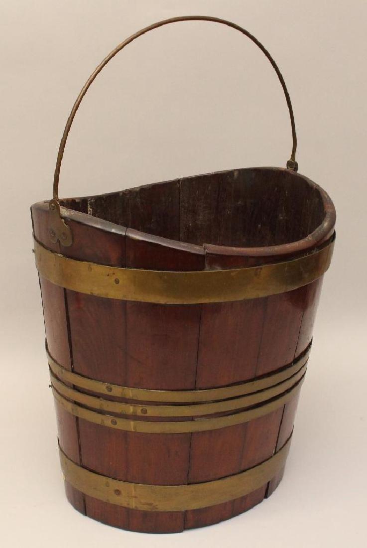 Mahogany Dutch 1780 Bucket - 2