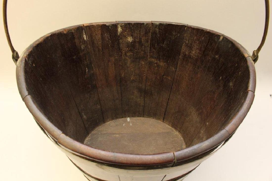 Mahogany Dutch 1780 Bucket - 3