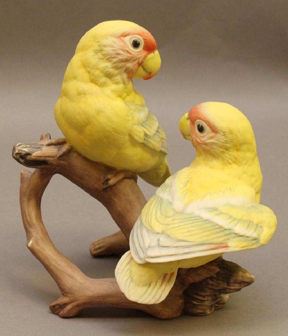 "Boehm ""Baby Lovebird"" Figure - 2"
