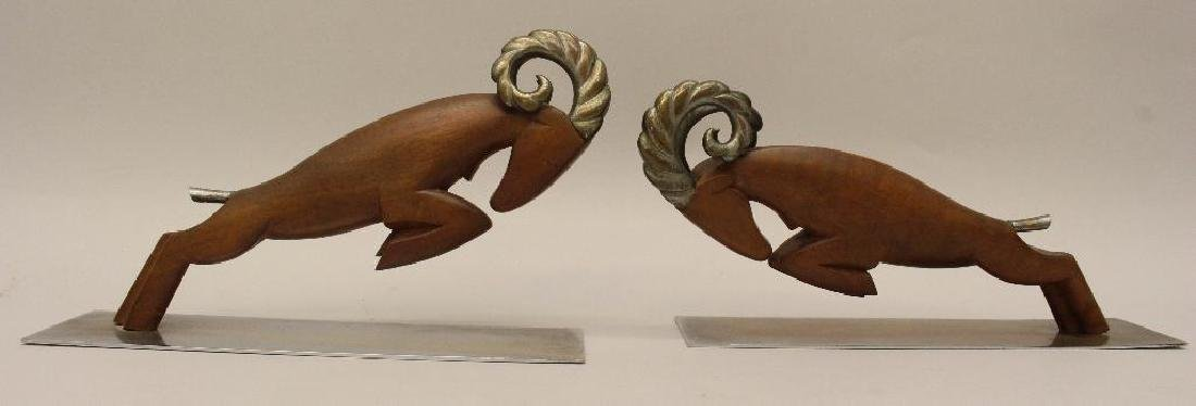 (2) Pair of Hagenauer Art Deco Bookends