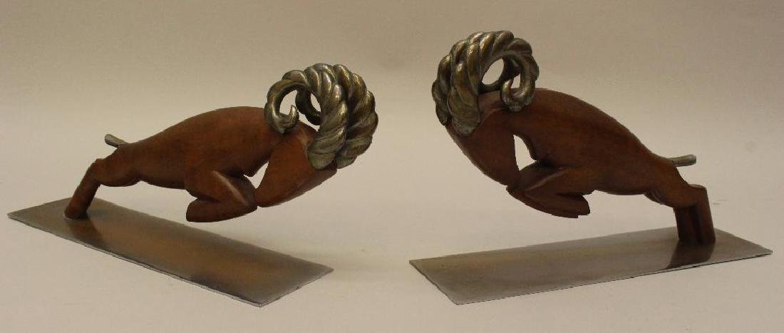 (2) Pair of Hagenauer Art Deco Bookends - 2