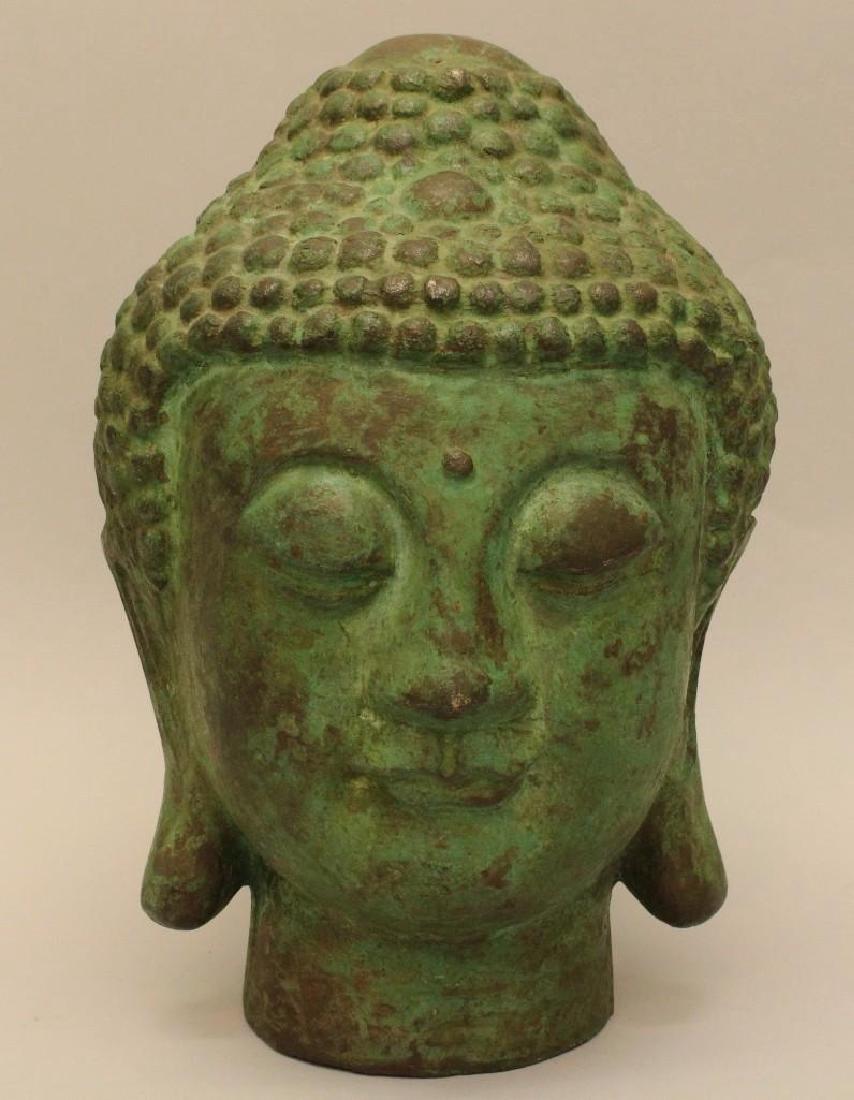 Cast Bronze Asian Buddah