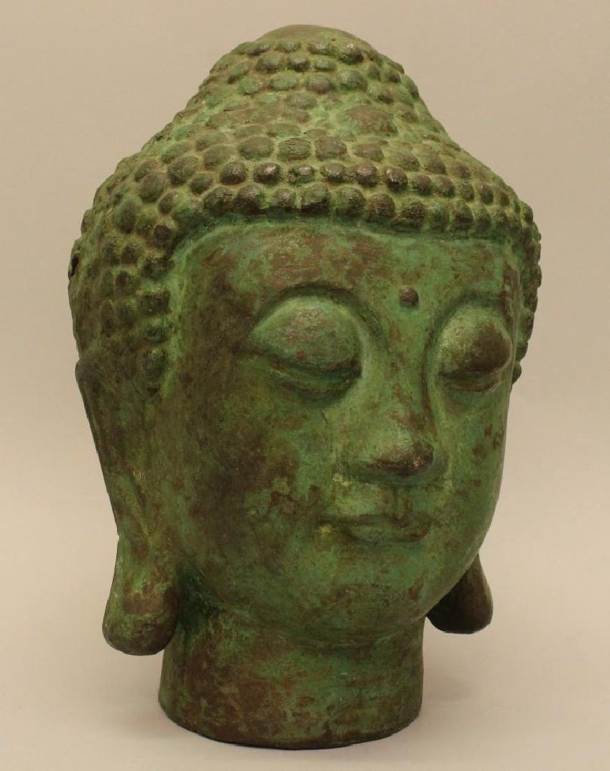 Cast Bronze Asian Buddah - 2