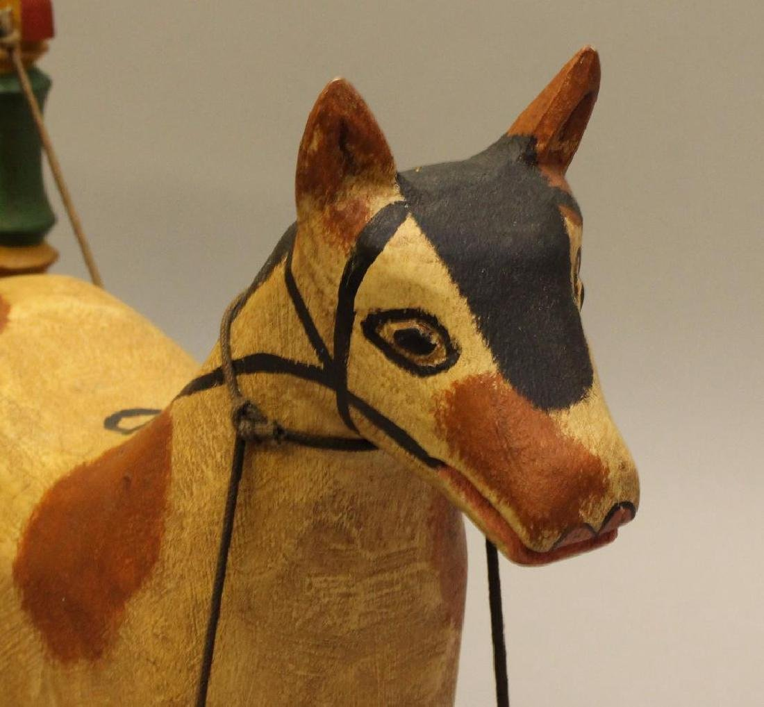 Painted and Carved Folk Art Sculpture - 4