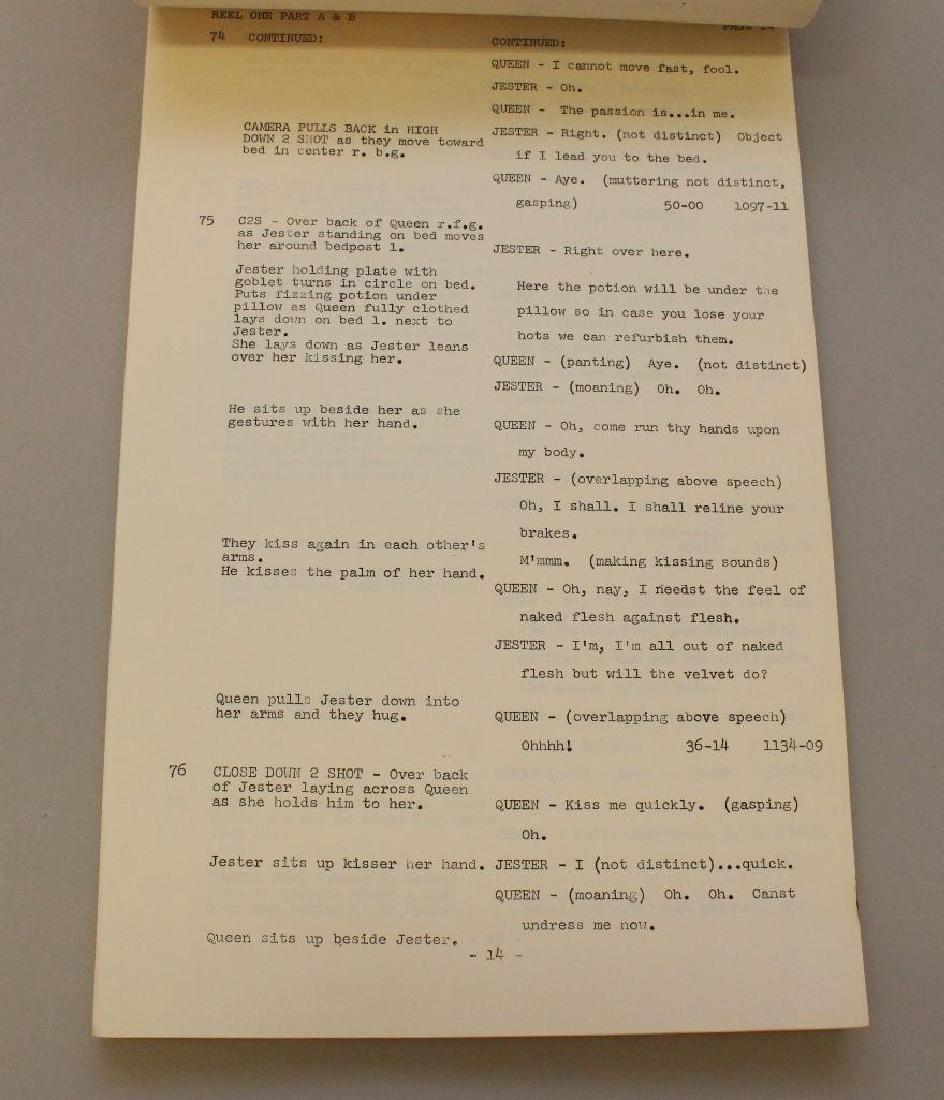 Woody Allen United Artists Movie Script - 4