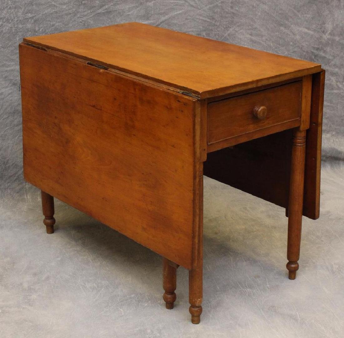 Cherry Drop Leaf Table - 2