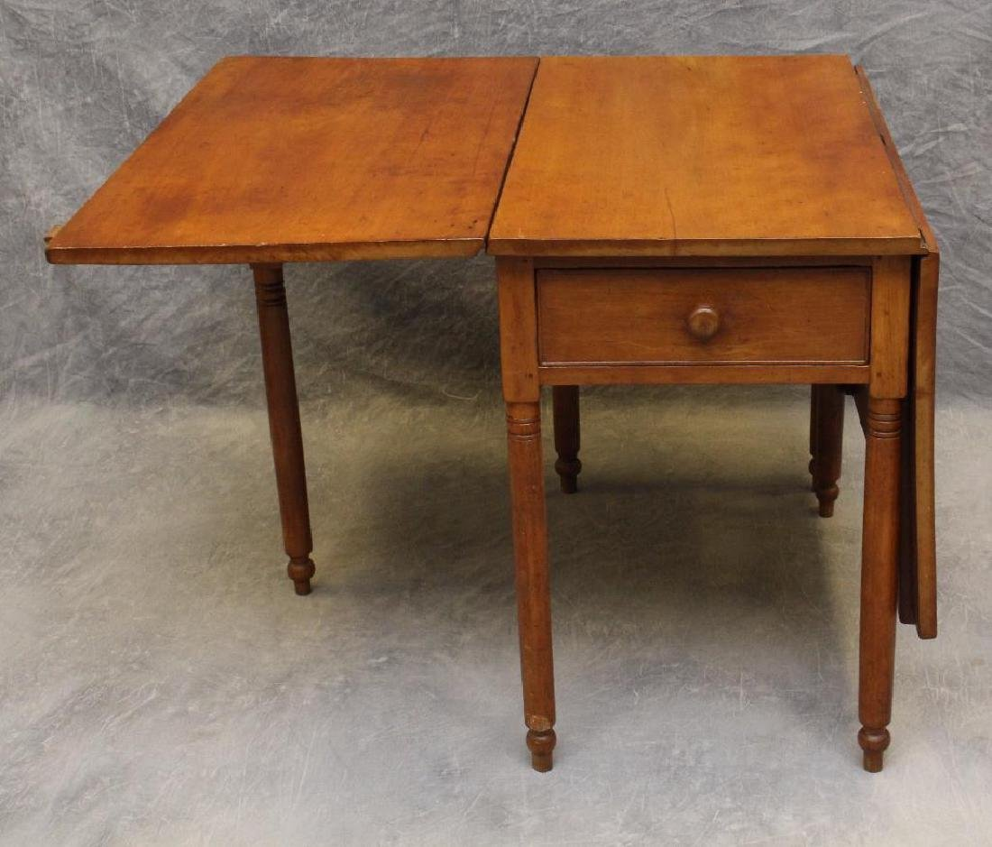 Cherry Drop Leaf Table - 3