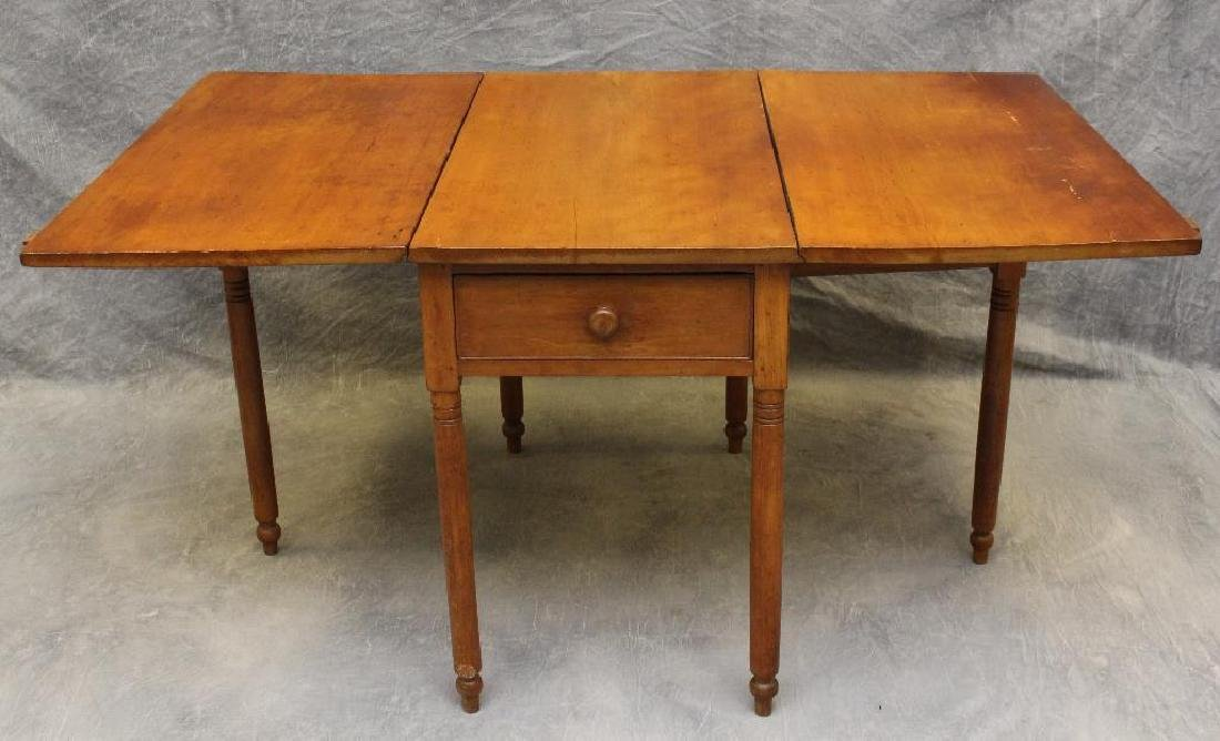 Cherry Drop Leaf Table - 4