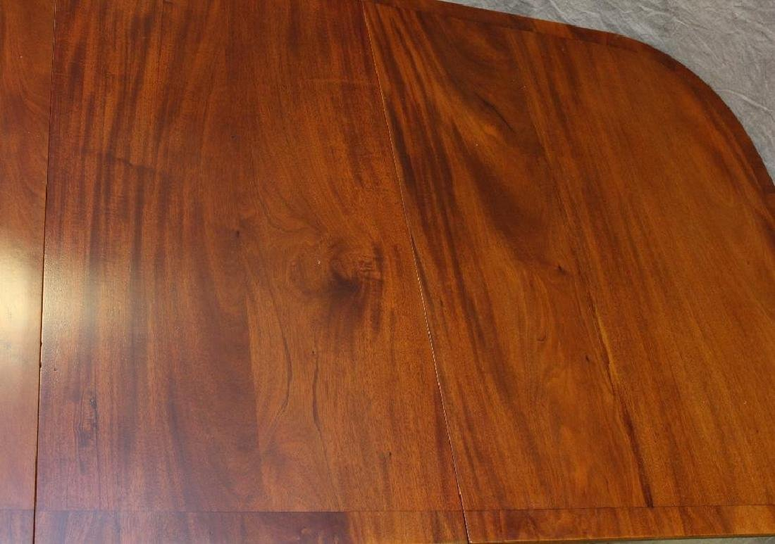 Mahogany Double Pedestal Dining Table - 5