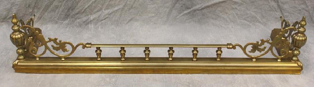(4) Piece French Bronze Chenet - 3