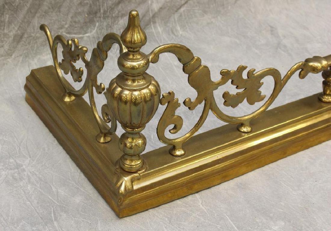 (4) Piece French Bronze Chenet - 4