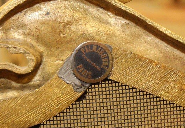 (4) Piece French Bronze Chenet - 7
