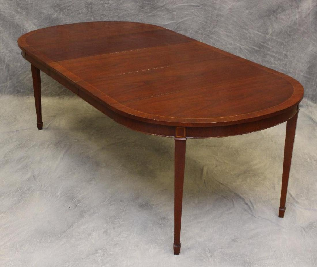 Kindel Mahogany Extension Dining Table