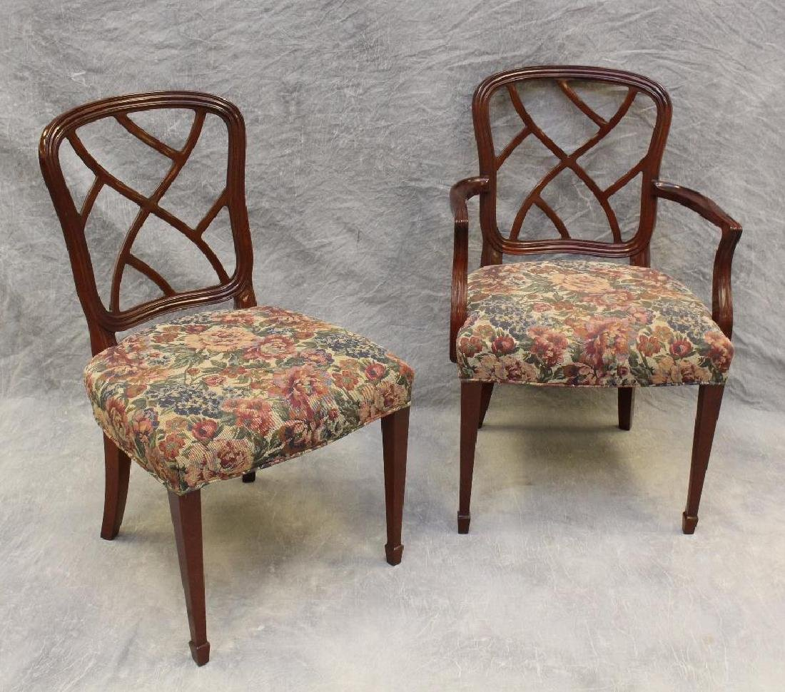 Set of (6) Kindel Mohagany Dining Chairs - 2