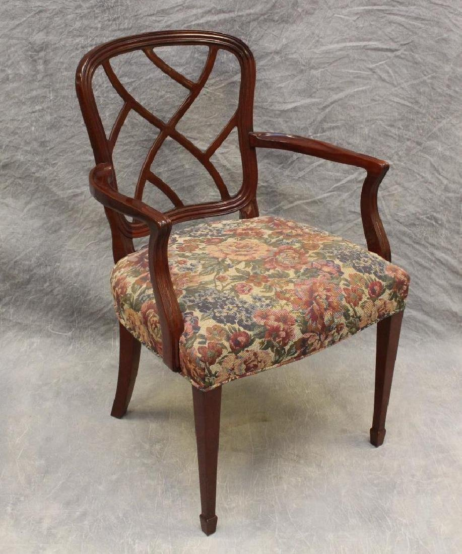 Set of (6) Kindel Mohagany Dining Chairs - 3