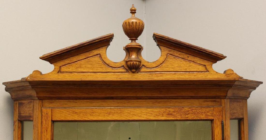 Oak Corner Cupboard - 3