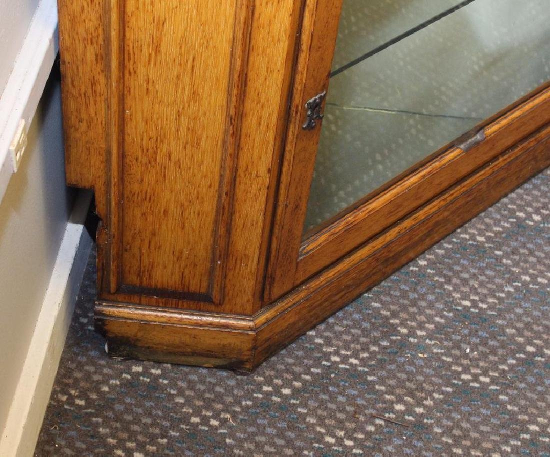 Oak Corner Cupboard - 6