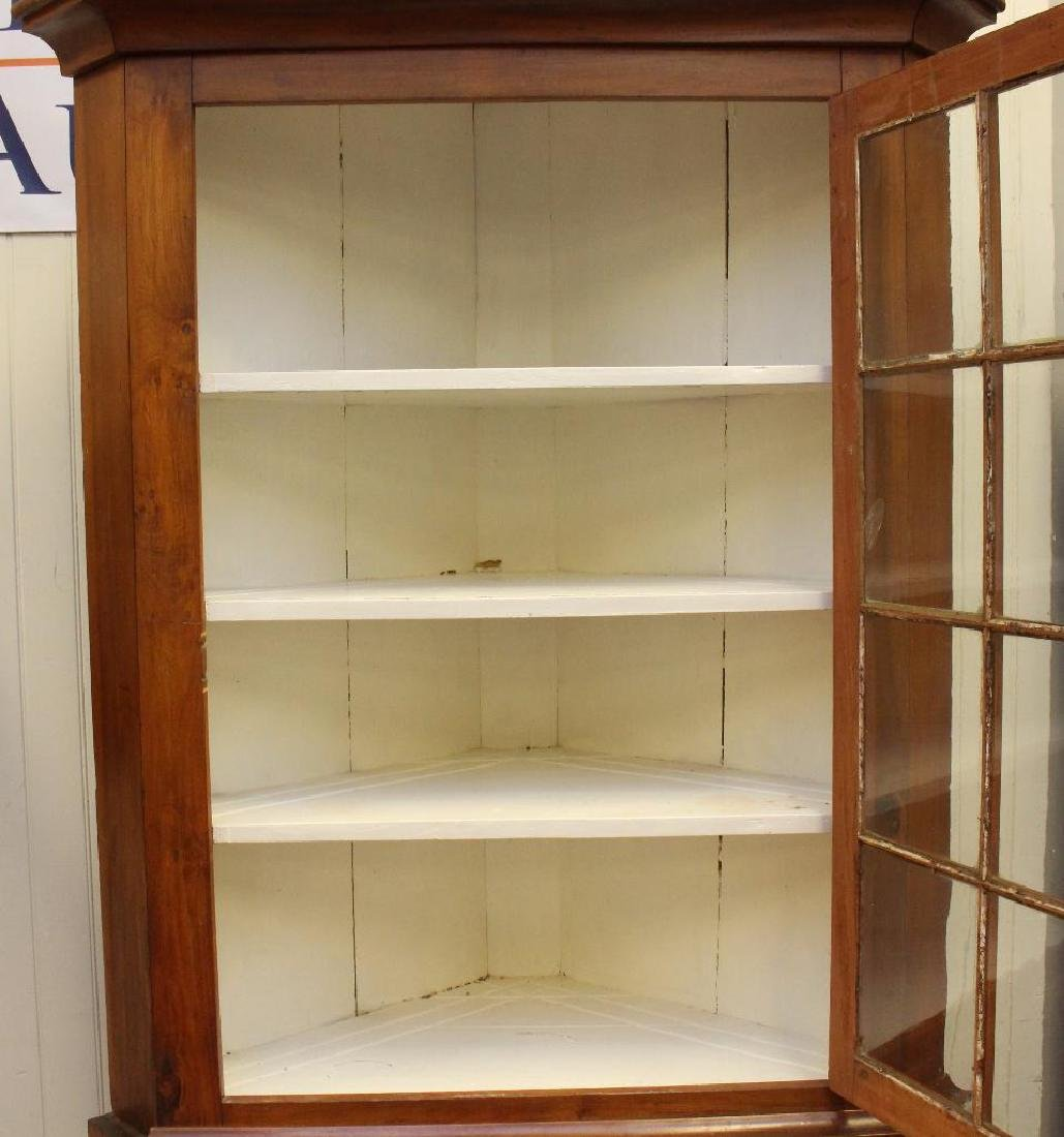 Pennsylvania Cherrywood Corner Cupboard - 2