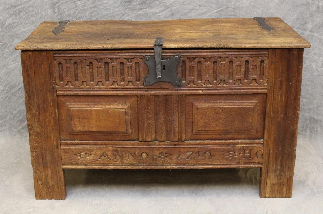 Oak Dower Chest