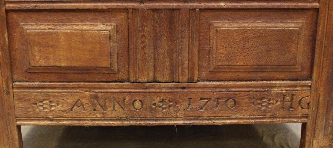 Oak Dower Chest - 2