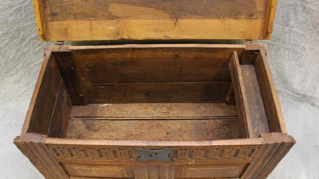 Oak Dower Chest - 3