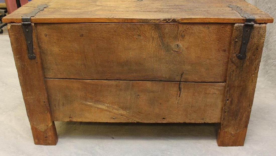 Oak Dower Chest - 5