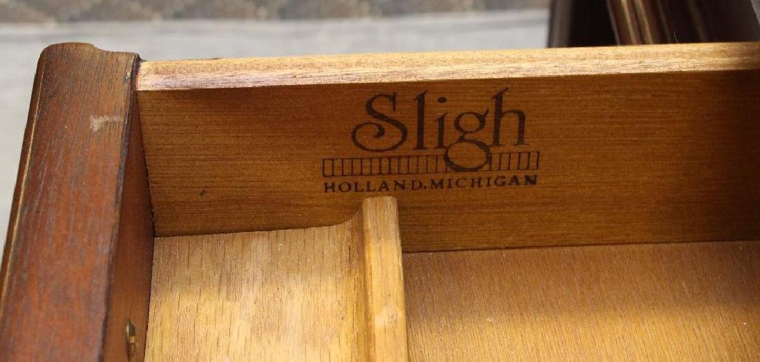 Sligh Mahogany Library Desk and Chair - 4