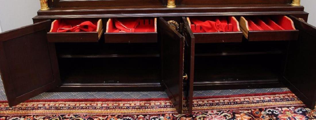 Mahogany Ormolu Mounted China / Display Cabinet - 4
