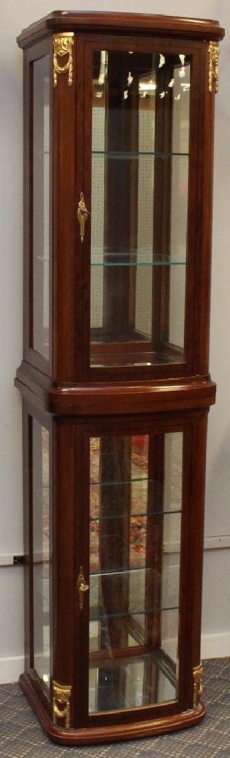 Mahogany Ormolu Mounted Display Cabinet
