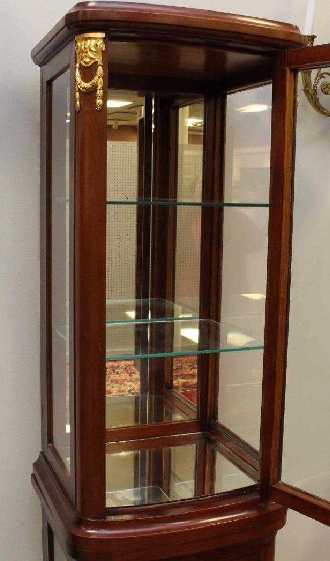 Mahogany Ormolu Mounted Display Cabinet - 3