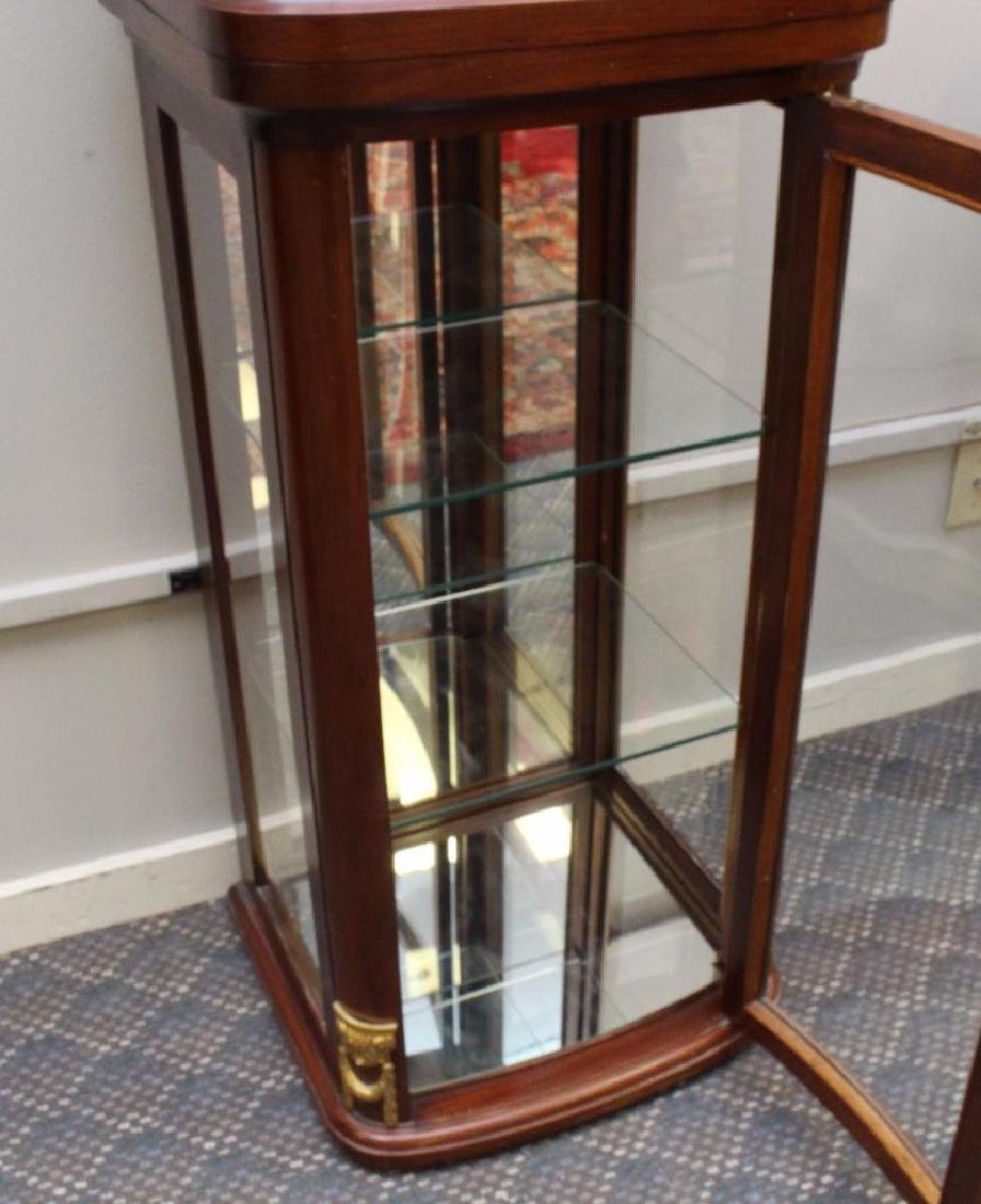 Mahogany Ormolu Mounted Display Cabinet - 5