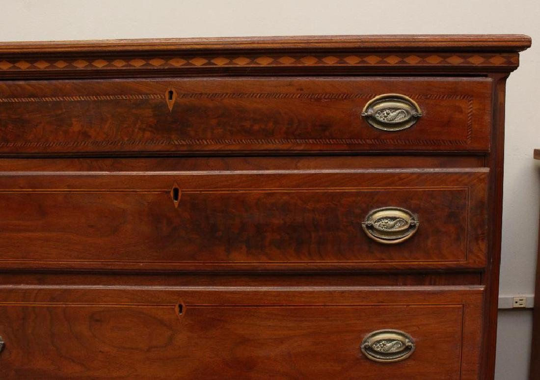 Hepplewhite Chest of Drawers - 3