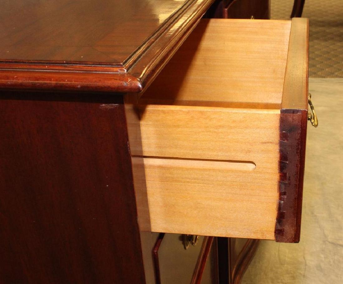 Mahogany Serpentine Front Dresser - 3